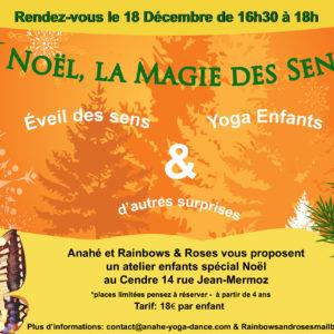 Noël, la Magie des sens Atelier Yoga Enfants
