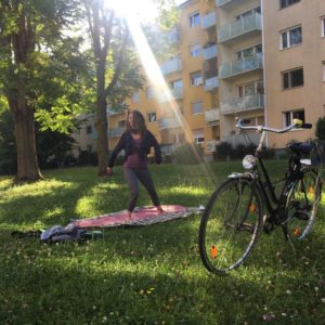 "Anahé ""Voyage"" – Yoga & Nia Live traveling Around"