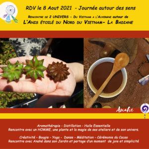 8 Août – Journée autour des sens du Vietnam – Auvergne